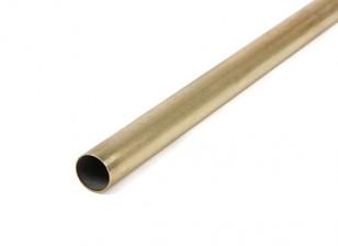 K&S Precision Metals Brass Round Stock Tube 12mm OD x 0.45mm x 1000mm (Qty 1)