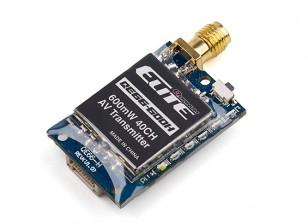Quanum Elite QE66-600H 5.8GHz 600mW 40ch Wireless AV Transmitter (Horizontal SMA Antenna) NTSC/PAL