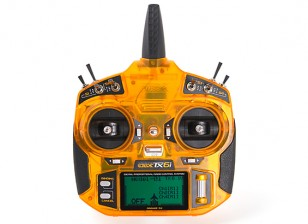 OrangeRx Tx6i Full Range 2.4GHz DSMX Compatible 6ch Radio System (Mode 2) EU/UK Version Front view