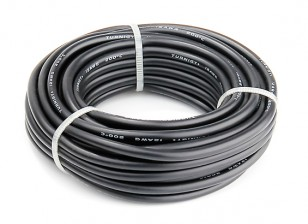 Turnigy High Quality 12AWG Silicone Wire 7m (Black)