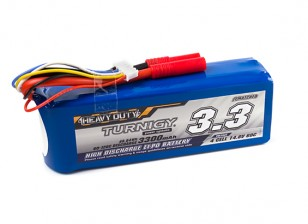 Turnigy Heavy Duty 3300mAh 4S 60C Lipo Pack