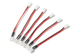 Molex 2.0 2p to PH2.0 2P Battery Adapter (6pc)