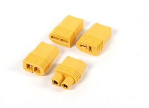 Nylon XT60 Multi-Stecker-Adapter-Set (T-Connector / EC3 / Kompatibel / Tamiya)