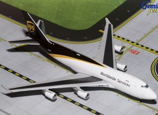 UPS New Livery Boeing 747-400 N572UP 1:400 Diecast Model GJUPS1571