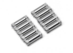 3x17mm Alu. geringes Gewicht runden Ständer (Splitter)