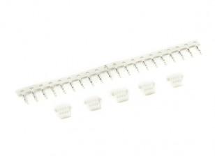 4-Pin Stecker und Stift Crimp