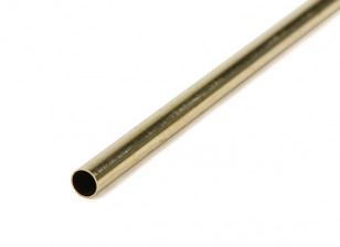 Thin Wall Messing 4,5mm ODx.225mm