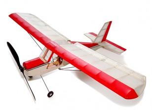Aeromax Micro Indoor Balsa Flugzeug 400mm Kit w / Motor