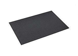 Carbon-Faser-Blatt 300 x 200 x 2mm
