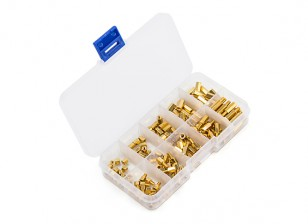 Brass Hex Spacer Set 4~12mm (M3) 150pcs