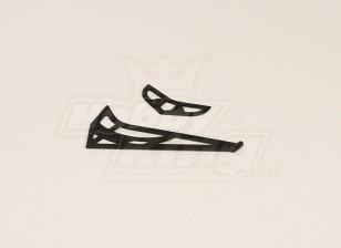 GT450PRO Kunststoff horizontale / vertikale Schwanzflosse