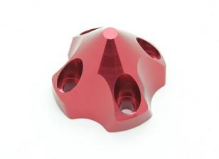 3D Spinner für DLE30 (33x33x26mm) Rot
