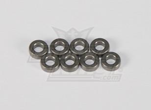4 x Metall Bush 8 * 4 * 3 - 118B, A2023T, A2029 und A2035
