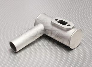 RCG 30cc Ersatz Schalldämpfer mit Schrauben und Dichtung