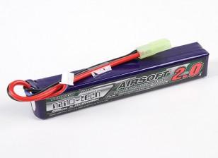 Turnigy Nano-Tech-2000mAh 2S 15 ~ 25C Lipo AIRSOFT-Pack