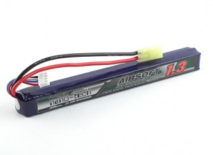 Turnigy Nano-Tech-1300mAh 3S 25 ~ 50C Lipo AIRSOFT-Pack