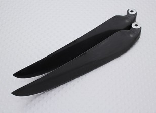 Folding Carbon-Infused Propeller 11x6 Schwarz (CCW) (1pc)