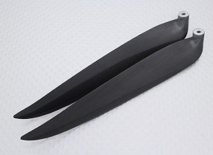 Folding Carbon-Infused Propeller 13x8 Schwarz (CCW) (1pc)