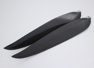 Folding Carbon-Infused Propeller 14x8 Schwarz (CCW) (1pc)