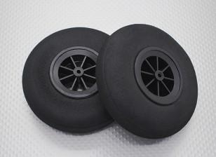 Leichte Rad 100 mm (2 Stück)