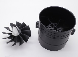 12 Blade-Hochleistungs-90mm EDF Impeller