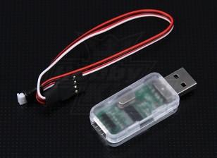 Hobbyking ZYX 3-Achsen Flybarless System USB-Adapter-Programm