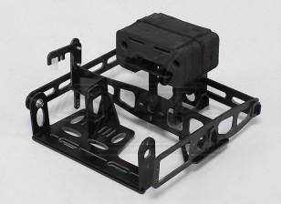 Hobbyking Y650 Scorpion-Glasfaser-Pan / Tilt Kamerahalterung