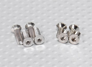 Turnigy Talon V2 Schraubensatz (4 Stück M3 x 12, 4pcs M3 x 8)