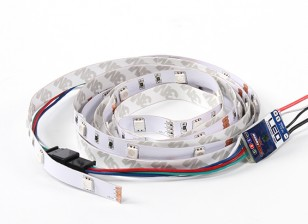 9 Mode Multi Farbe / Multi-Funktions-LED-Leiste mit Control Unit