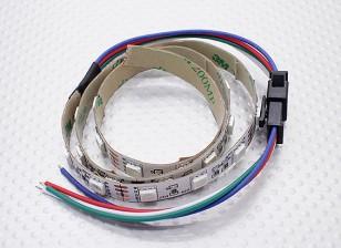 LED Rot, Grün, Blau (RGB) Streifen 50cm w / Kabelausgang
