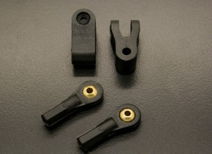 Sphärische Kugelgelenk und Clevis Set (Twin Pack)