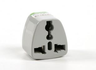 Hobbyking TXW016 Fused 13 Ampere Netzstrom Multi-Adapter-Grau (AU Stecker)