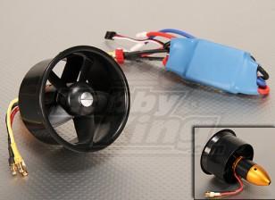 HK EDF64 Brushless Power System 3500KV & 45A ESC