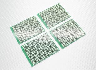 DIY PCB-Brot-Brett 57x45mm (4 Stück / bag)
