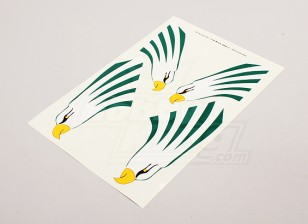 Adler für Seitenleitwerk links und rechts