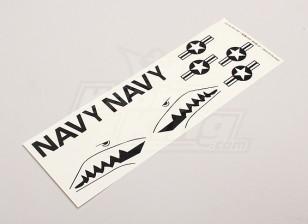 US Navy Stars & Bars / Sharksmouth für Parkfly Jet