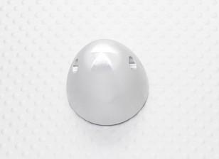31mm Legierung Prop Nut / Spinner Suites 5mm Gewinde (Silbereloxiert)