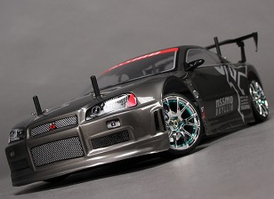 1/10 HobbyKing® ™ Mission-D 4WD GTR Drift Car (ROLLER KIT)