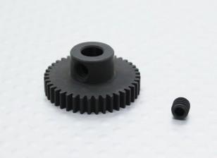40T / 5mm 48 Pitch gehärteter Stahl Ritzel