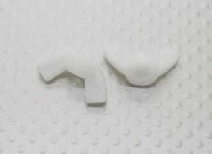 Nylon Flügelmuttern M5 - 2St