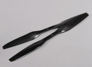 Acromodelle Carbon Fiber mit DJI Fitting Propeller 15x5.5 Schwarz (CW / CCW) (2 Stück)