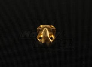 3D Spinner für DLE30 (33x33x26mm) Gold