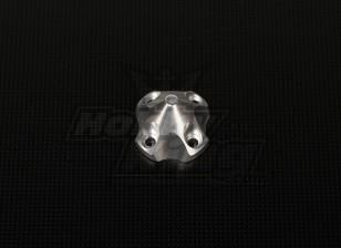 3D Spinner für DLE30 (33x33x26mm) Silber