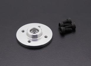 Super Heavy Duty CNC Metallservoplatte - JR / Sanwa (Silber)