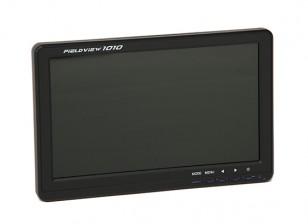 10,1 Zoll 1024 x 600 FPV HD LED mit Sonnenschutz und Stativbefestigung Fieldview-Monitor 1010