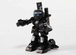 2-Kanal Mini-R / C Battle Robot mit Ladegerät (Schwarz)