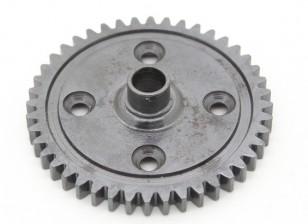 Basher Nitro Circus MT / Sabertooth gehärteter Stahl - Stirnradgetriebe 44T