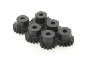 Gehärteter Stahl Pinion Gear Set 32P 3.175mm Welle zu passen (15/16/17/18/19 / 20T)