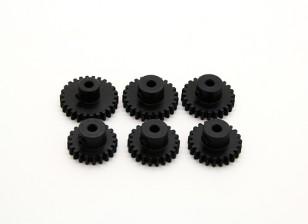 Gehärteter Stahl Pinion Gear Set 32P 3.175mm Welle zu passen (21/22/23/24/25 / 26T)