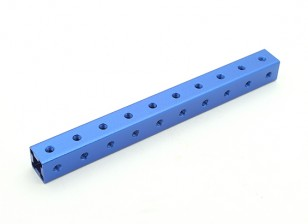 RotorBits Pre-Drilled eloxiertes Aluminium Construction Profil 100mm (blau)